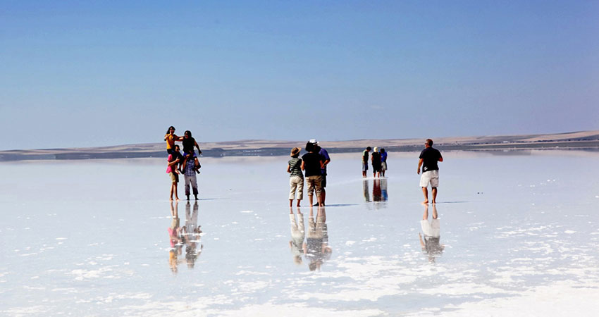 Экскурсия на озеро Туз из Каппадокии - Солёное Озеро - Цена и Фото