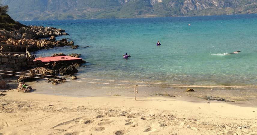 Экскурсия на остров Клеопатры из Бодрума - Описание и Фото