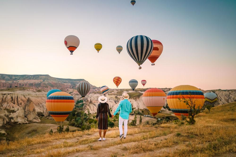 Индивидуальный полет на воздушном шаре в Каппадокии